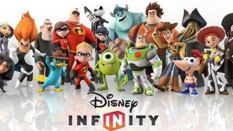 Disney Infinity - Reveal Trailer (Wii WiiU PS3 X360 3DS) HD
