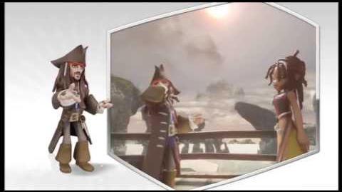 Disney Infinity - Captain Jack Sparrow Character Gameplay - Series 1