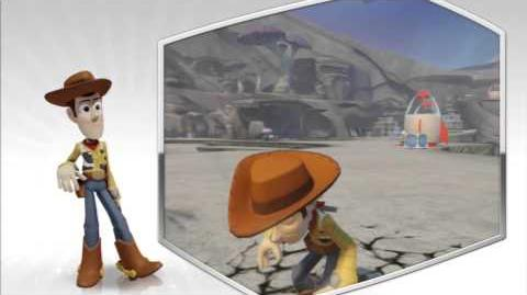 Disney Infinity - Woody Character Gameplay - Series 2