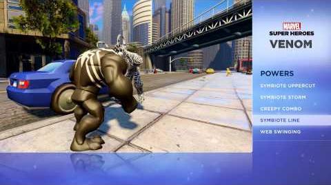 Venom - Disney Infinity Marvel Super Heroes (2