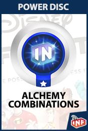 Disney infinity power disc alchemy combinations