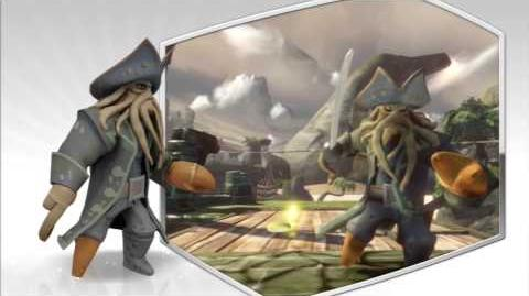 Disney Infinity - Davy Jones Character Gameplay - Series 1