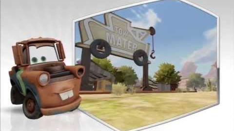 Disney Infinity - Mater Character Gameplay - Series 1