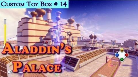 HD Disney Infinity Aladdin's Palace Race Track New Custom Toy Box 14 Featuring Mater