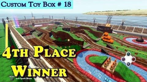 HD Disney Infinity Race Track Content 4th Place - Monster Truck Fun - Custom Toy Box 18