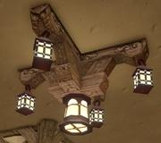 Dwarf's Cottage Chandelier
