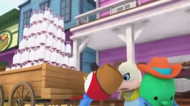 File:Peck is trying to pull Ella's wagon - Tricky Trouble.png