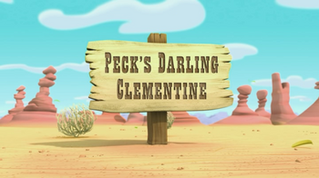 Peck's Darling Clementine titlecard