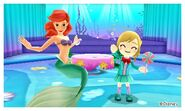 Ariel and Mii Photos