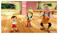 Pinocchio Geppetto and Mii Photos - DMW2