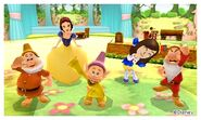 Snow White the Dwarfs and Mii Photos - DMW2