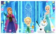 Anna Elsa Olaf and Mii Photos