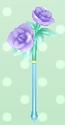 Crystal Rose Wand