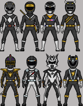 BlackRangers MicroManEd