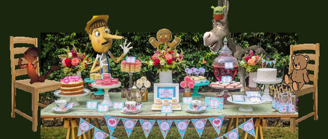 File:Doll Girl Pinocchio Gingy Donkey Teddy Bear Tea Party.jpg