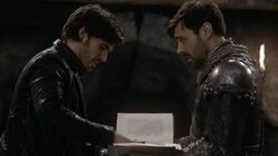 Once Upon a Time - 5x21 - Last Rites - Hook Arthur Book