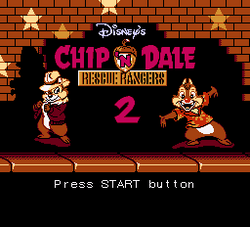 Chip 'n Dale Rescue Rangers 2 Title Card