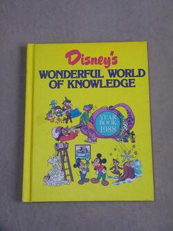 Disneys wonderful world of knowledge year book 1988