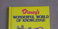 Disney's Wonderful World of Knowledge Year Book 1988