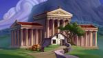 Hercules - Grecian Architecture