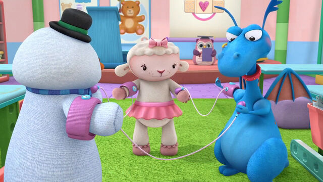 File:Stuffy, lambie and chilly giving each other blood preasures.jpg