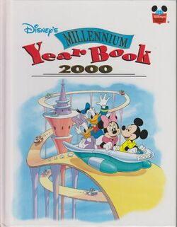 Disney millennium yearbook 2000