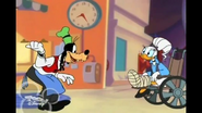 Goofy and Daisy