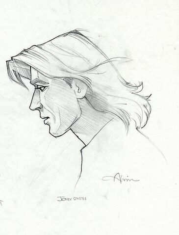 File:Disney's Pocahontas - Concept Art by John Alvin - John Smith.jpg