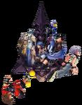 Kingdom Hearts 2.8 E3 2016 Keyart