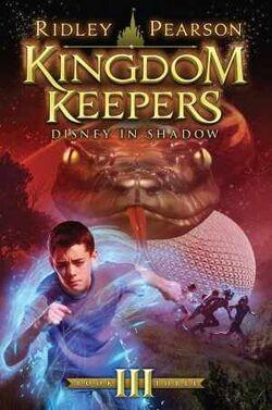 Kingdom Keepers III Disney In Shadow Alternate Cover