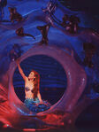 Mermaid-ariel-in-grotto-broadway