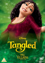 Tangled Disney Villains 2014 UK DVD