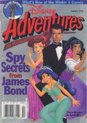 Disney Adventure James bond