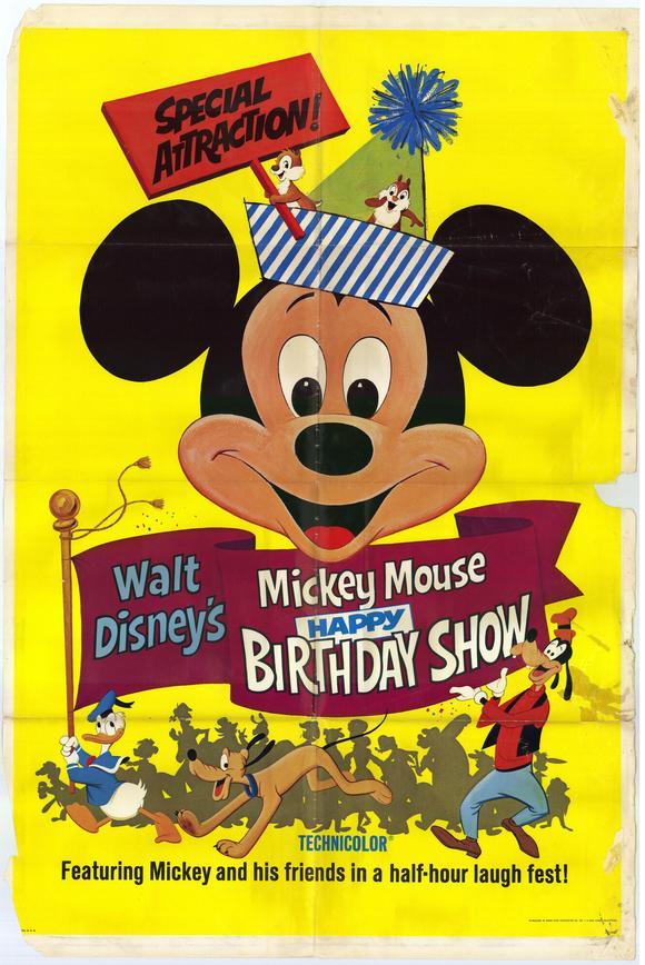 Walt Disney's Mickey Mouse Happy Birthday Show | Disney Wiki ...