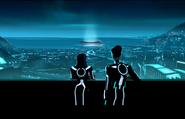 Argon city skyline