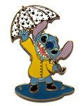 Disney Mall - Stitch in Rain with Umbrella