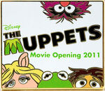 Disney pin muppets movie opening 2011