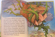 Mickey and the Beanstalk Story Hour beanstalk illustration