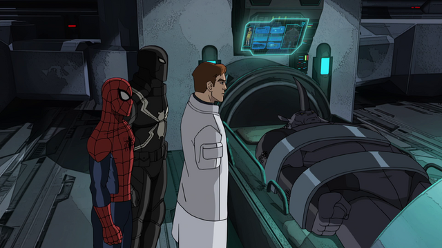 File:Spider-Man Agent Venom Doctor Conners Rhino USMWW.png