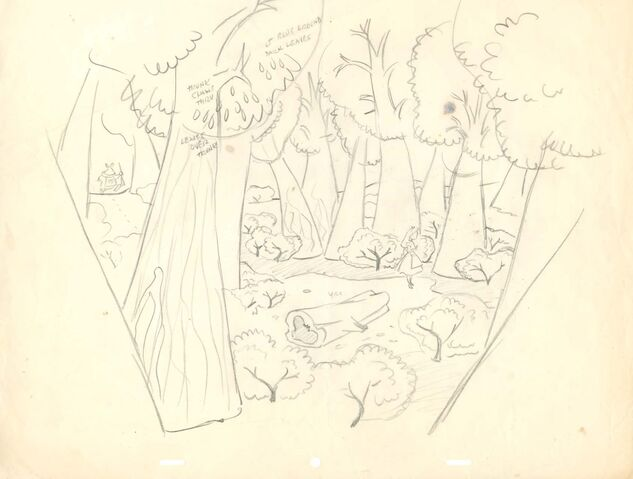 File:16-field drawing - tulgey wood with alice and white rabbit layout drawing blog.jpg