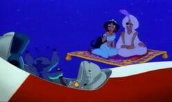 Stitch Aladdin promo