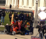 The muppets again filming 13