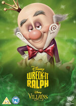 Wreck-It Ralph Disney Villains 2014 UK DVD