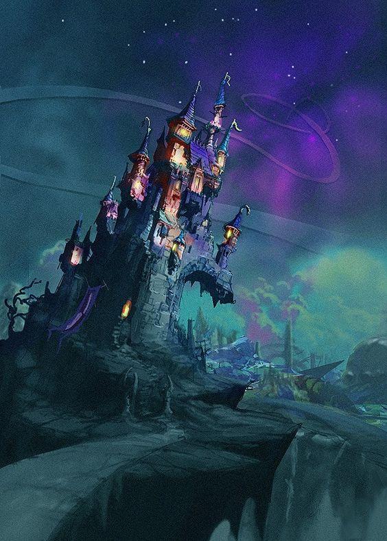 Dark Beauty Castle Disney Wiki Fandom Powered By Wikia