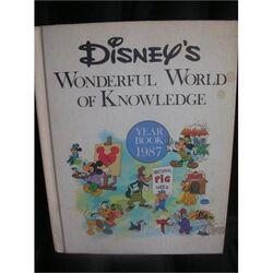 Disneys wonderful world of knowledge year book 1987