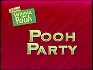 Pooh Party title card