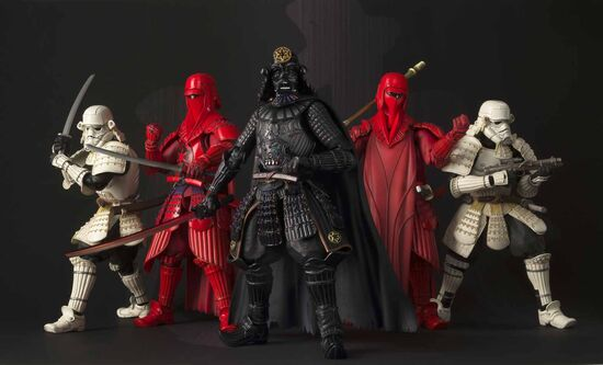 Akazonae Royal Guard Samurai figure 10