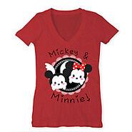 Mickey and Minnie Tsum T Shirt