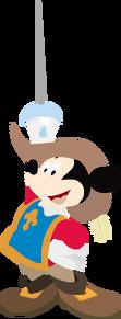 Musketeer Mickey toystoryfan artwork
