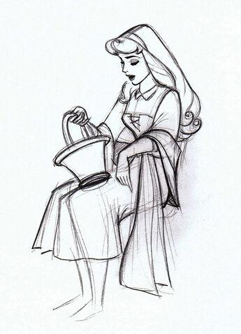 File:Sleeping beauty disney drawing model sheet 3.jpg